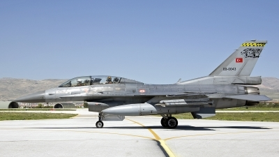 Photo ID 241619 by D. A. Geerts. Turkey Air Force General Dynamics F 16D Fighting Falcon, 89 0043