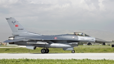 Photo ID 241661 by D. A. Geerts. Turkey Air Force General Dynamics F 16C Fighting Falcon, 93 0687