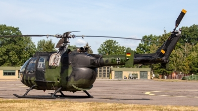 Photo ID 241682 by Jan Eenling. Germany Army MBB Bo 105P1M, 87 67