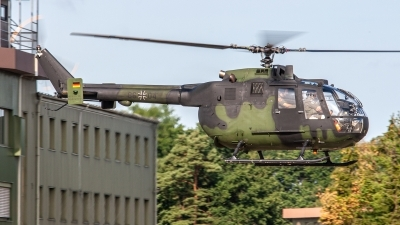 Photo ID 241680 by Jan Eenling. Germany Army MBB Bo 105P1, 86 04