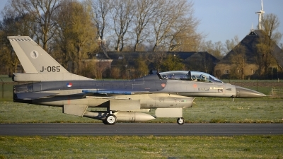 Photo ID 241678 by Peter Boschert. Netherlands Air Force General Dynamics F 16BM Fighting Falcon, J 065