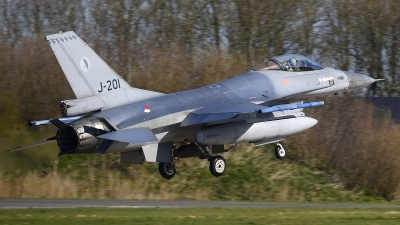 Photo ID 241794 by Peter Boschert. Netherlands Air Force General Dynamics F 16AM Fighting Falcon, J 201