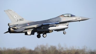 Photo ID 241793 by Peter Boschert. Netherlands Air Force General Dynamics F 16A Fighting Falcon, J 362