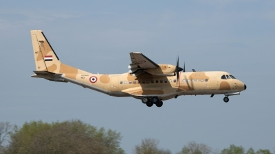 Photo ID 241805 by Neil Dunridge. Egypt Air Force CASA C 295M, 1193