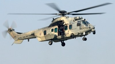Photo ID 241833 by Thanh Ho. Thailand Air Force Eurocopter EC 725AP Caracal, H11 8 61