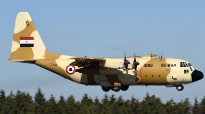 Photo ID 241875 by Hans-Werner Klein. Egypt Air Force Lockheed C 130H Hercules L 382, 1285