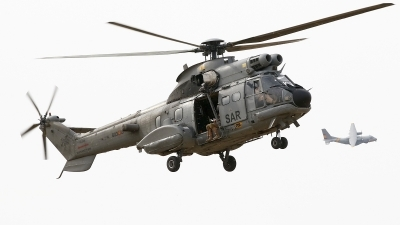 Photo ID 241950 by Montserrat Pin. Spain Air Force Aerospatiale AS 332B Super Puma, HT 21 01