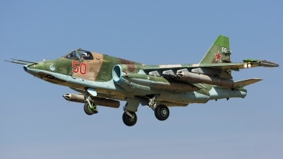 Photo ID 242014 by Andrei Shmatko. Russia Air Force Sukhoi Su 25SM, RF 93053