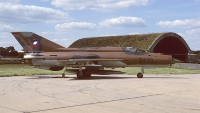 Photo ID 242208 by Klemens Hoevel. Czech Republic Air Force Mikoyan Gurevich MiG 21MF, 9410