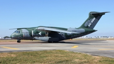 Photo ID 242310 by Tony Horton. Brazil Air Force Embraer KC 390, PT ZNJ
