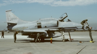 Photo ID 242315 by Klemens Hoevel. USA Marines McDonnell Douglas A 4M Skyhawk, 159785