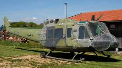 Photo ID 242269 by Florian Morasch. Germany Army Bell UH 1D Iroquois 205, 72 81