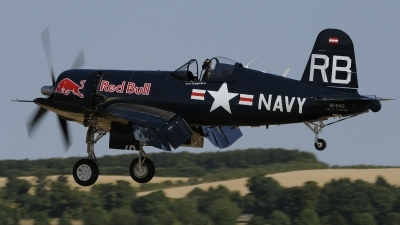 Photo ID 242296 by rinze de vries. Private Red Bull Vought F4U 4 Corsair, OE EAS
