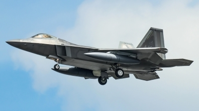 Photo ID 242332 by Andrei Shmatko. USA Air Force Lockheed Martin F 22A Raptor, 06 4122