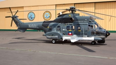 Photo ID 242348 by Neil Dunridge. Chile Navy Aerospatiale AS 532AC Cougar,
