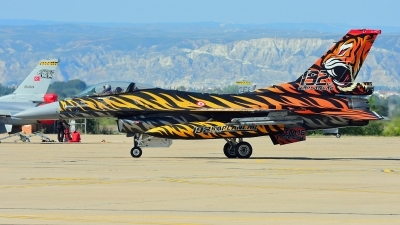 Photo ID 242488 by Aldo Bidini. Turkey Air Force General Dynamics F 16C Fighting Falcon, 92 0014