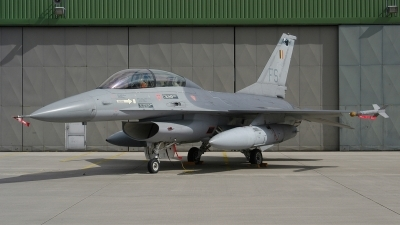 Photo ID 242484 by Klemens Hoevel. Belgium Air Force General Dynamics F 16B Fighting Falcon, FB 05
