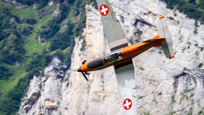 Photo ID 242813 by Agata Maria Weksej. Private Fliegermuseum Altenrhein Pilatus PC 7 Turbo Trainer, T7 FMA