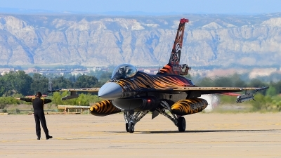 Photo ID 242525 by Aldo Bidini. Turkey Air Force General Dynamics F 16C Fighting Falcon, 92 0014