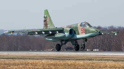 Photo ID 242664 by Andrei Shmatko. Russia Air Force Sukhoi Su 25SM, RF 93053