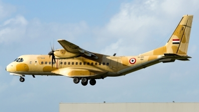 Photo ID 242687 by Matteo Buono. Egypt Air Force CASA C 295M, 1192