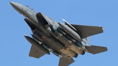 Photo ID 242700 by Paul Newbold. USA Air Force McDonnell Douglas F 15E Strike Eagle, 90 0260