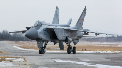 Photo ID 242726 by Andrei Shmatko. Russia Air Force Mikoyan Gurevich MiG 31BM, RF 95432