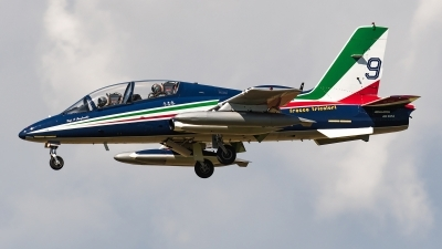 Photo ID 242771 by Matteo Buono. Italy Air Force Aermacchi MB 339PAN, MM54514