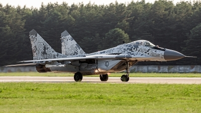 Photo ID 242837 by Alex van Noye. Slovakia Air Force Mikoyan Gurevich MiG 29AS, 0619