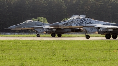 Photo ID 243007 by Alex van Noye. Slovakia Air Force Mikoyan Gurevich MiG 29AS, 6627