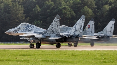 Photo ID 242848 by Alex van Noye. Slovakia Air Force Mikoyan Gurevich MiG 29AS, 0619