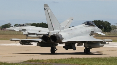 Photo ID 242967 by Paul Newbold. UK Air Force Eurofighter Typhoon FGR4, ZJ950