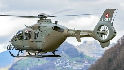 Photo ID 242986 by Martin Thoeni - Powerplanes. Switzerland Air Force Eurocopter EC 635P2, T 366