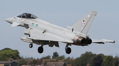 Photo ID 242979 by Paul Newbold. UK Air Force Eurofighter Typhoon FGR4, ZK361