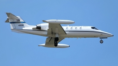 Photo ID 242980 by Sybille Petersen. USA Air Force Learjet C 21A, 84 0087