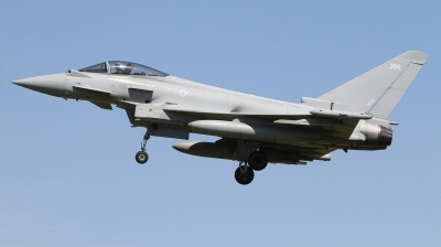 Photo ID 242976 by Paul Newbold. UK Air Force Eurofighter Typhoon FGR4, ZK366