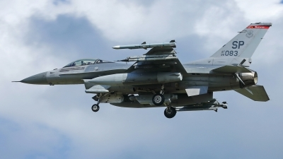 Photo ID 243013 by Sybille Petersen. USA Air Force General Dynamics F 16C Fighting Falcon, 96 0083