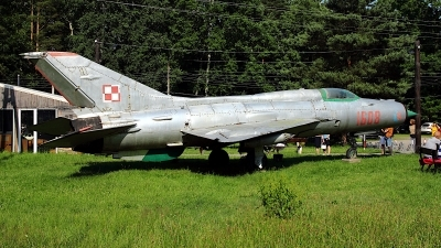 Photo ID 243053 by Wojtek Werpachowski. Poland Air Force Mikoyan Gurevich MiG 21PF, 1608