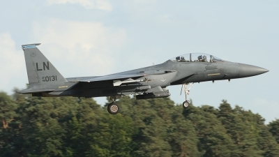 Photo ID 27303 by Rich Pittman. USA Air Force McDonnell Douglas F 15E Strike Eagle, 98 0131