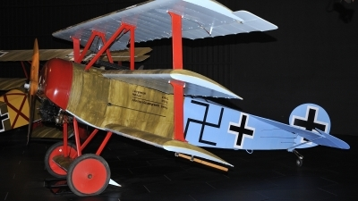 Photo ID 243139 by rinze de vries. Germany Air Force Fokker Dr 1 Triplane Replica, ZK JOB