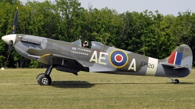 Photo ID 243223 by Aldo Bidini. Private The Fighter Collection Supermarine 331 Spitfire LF Vb, G LFVB