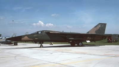 Photo ID 243206 by Peter Boschert. USA Air Force General Dynamics F 111E Aardvark, 67 0121