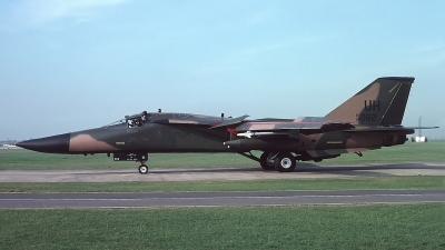 Photo ID 243205 by Peter Boschert. USA Air Force General Dynamics F 111E Aardvark, 68 0062