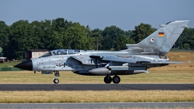 Photo ID 243232 by Rainer Mueller. Germany Air Force Panavia Tornado ECR, 46 36
