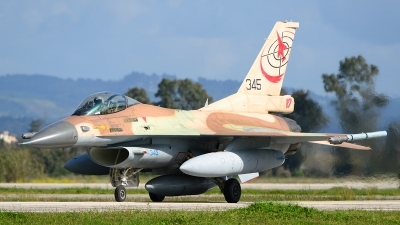 Photo ID 243301 by Stephan Franke - Fighter-Wings. Israel Air Force General Dynamics F 16C Fighting Falcon, 345