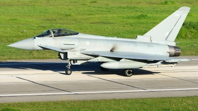 Photo ID 243305 by Stephan Franke - Fighter-Wings. UK Air Force Eurofighter Typhoon FGR4, ZK308