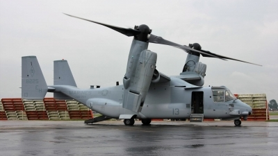 Photo ID 243306 by Tony Horton. USA Marines Bell Boeing MV 22B Osprey, 168225