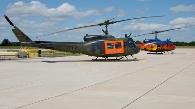 Photo ID 243331 by Patrick Weis. Germany Air Force Bell UH 1D Iroquois 205, 70 87
