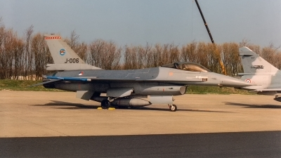 Photo ID 243434 by Jan Eenling. Netherlands Air Force General Dynamics F 16A Fighting Falcon, J 006