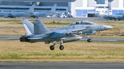 Photo ID 243465 by Aaron C. Rhodes. USA Navy Boeing EA 18G Growler, 168378